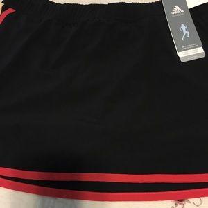 New Adidas Tennis Skort Climalite Black